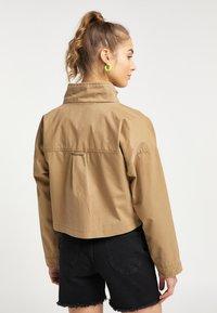 myMo - Summer jacket - dunkelsand - 2