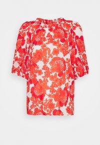 Hofmann Copenhagen - ELLIE - Blouse - coral print - 0