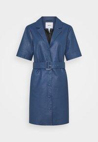 Object - OBJZARIA DRESS  - Shirt dress - ensign blue - 0
