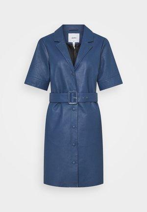 OBJZARIA DRESS  - Abito a camicia - ensign blue