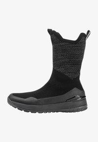 Mammut - FALERA II HIGH WP  - Winter boots - black-dark titanium - 0