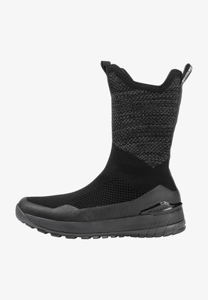 FALERA II HIGH WP  - Winter boots - black-dark titanium