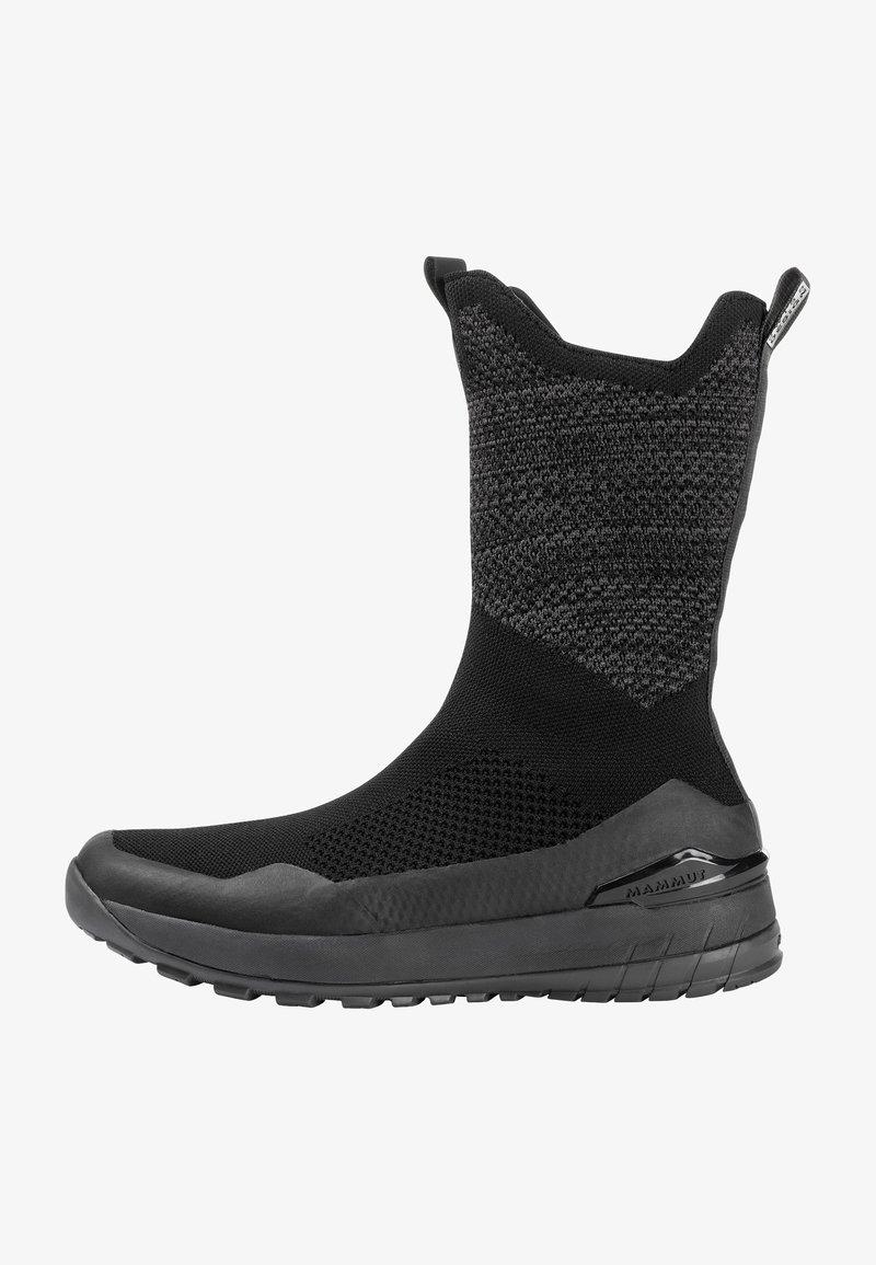 Mammut - FALERA II HIGH WP  - Winter boots - black-dark titanium