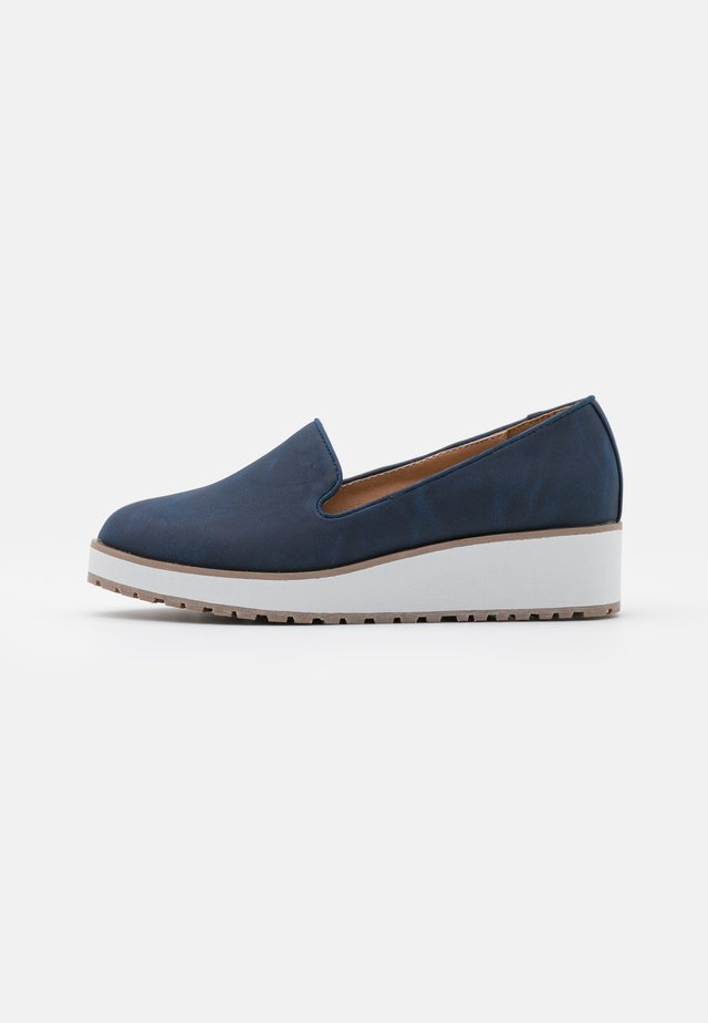 BRIA - Mocassins - navy