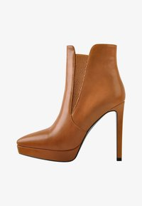 Only Maker - High heeled ankle boots - cognac - 1