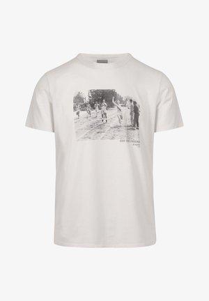 PHOTO TEE - Print T-shirt - off white