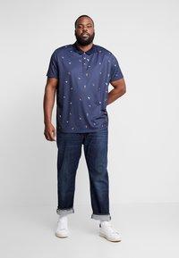 Burton Menswear London - BIRD - Poloshirt - navy - 1