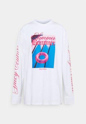 SUMMER BUMMER - Long sleeved top - white