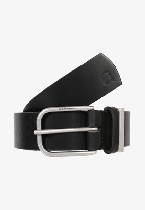 CARLEY - Belt - black/antic silver