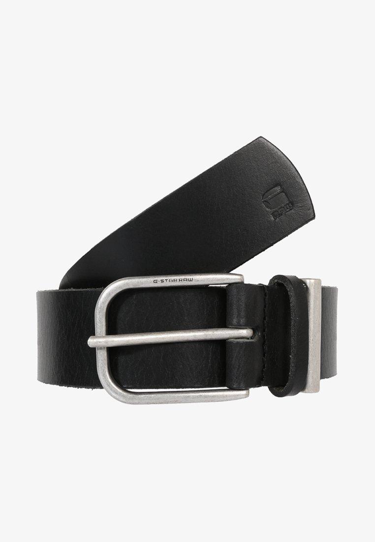 G-Star - CARLEY - Belt - black/antic silver
