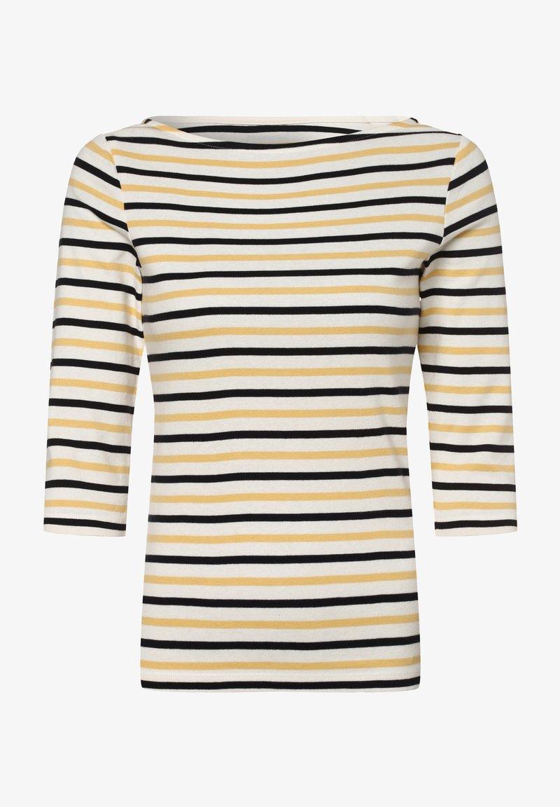 brookshire - Long sleeved top - weiß gelb