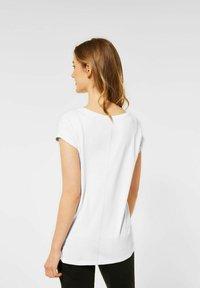 Street One - Print T-shirt - weiß - 2