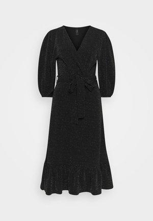 YASSCARLET DRESS - Cocktail dress / Party dress - black/silver