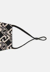LIU JO - KIT MASCHERINA 2 PACK - Maschera in tessuto - black/beige - 5