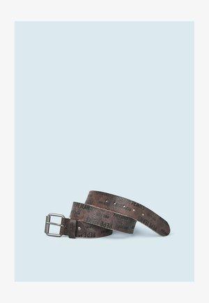 BERTRAND - Belt - marrón