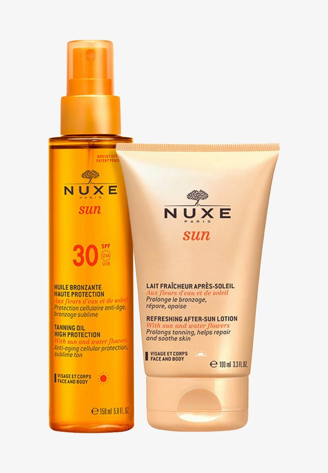 SUN TANNING OIL + AFTER SUN LOTION DUO - Sun protection - -