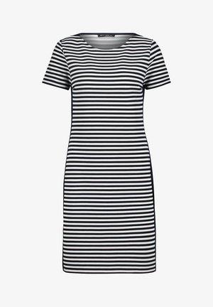 MIT STREIFEN - Jersey dress - dunkelblau/weiß