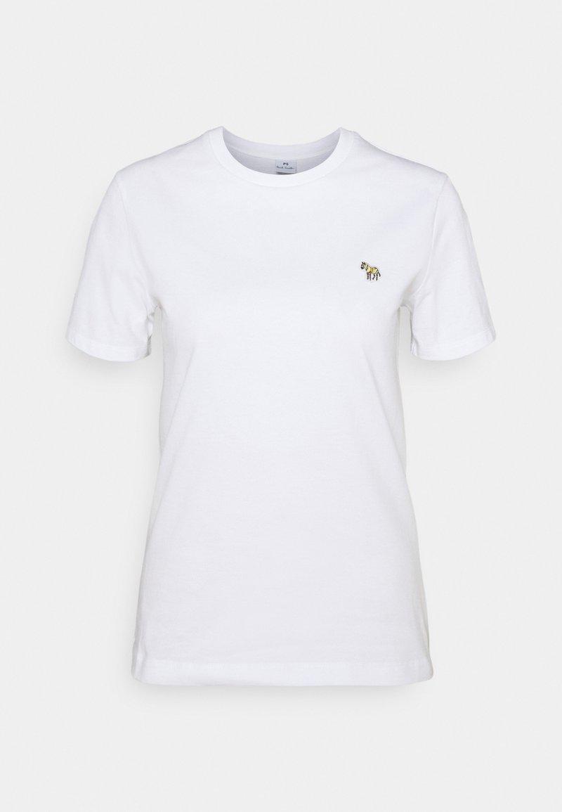 PS Paul Smith - WOMENS ZEBRA - Basic T-shirt - white
