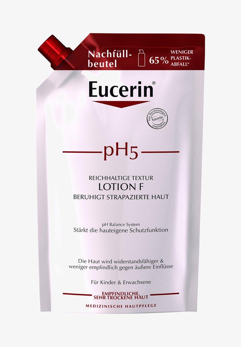 Eucerin - REICHHALTIGE TEXTUR LOTION F PH5, BEANSPRUCHTE & RISSIGE HAUT - Moisturiser - -