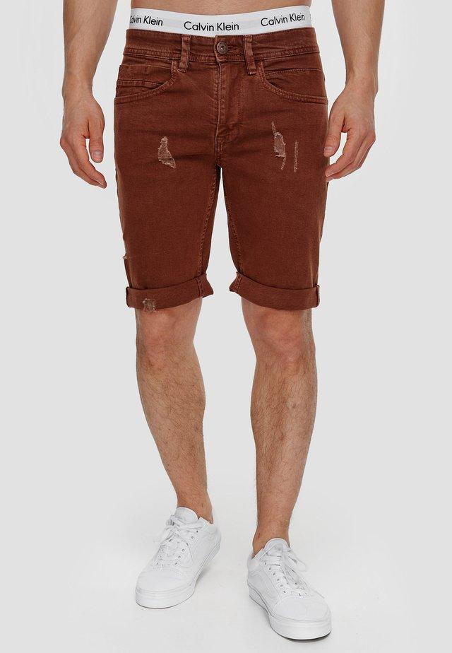 Shorts vaqueros - rootbeer