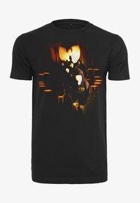 Mister Tee - Print T-shirt - black - 0