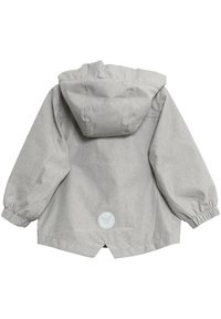 Wheat - Waterproof jacket - dove melange - 1