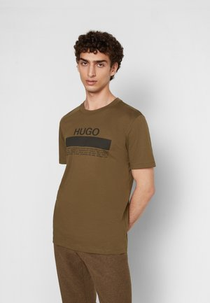 DAITAI - Print T-shirt - dark green