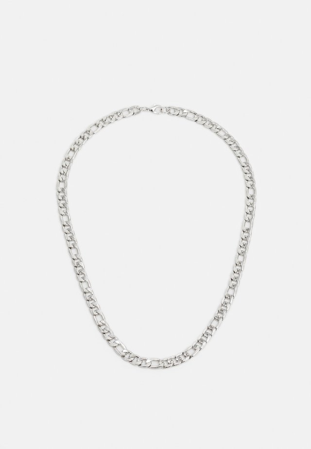 LARGE LINK CHAIN NECKLACE - Halskette - silver-coloured