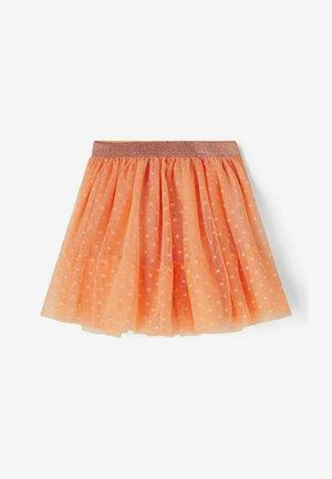 A-line skirt - cantaloupe