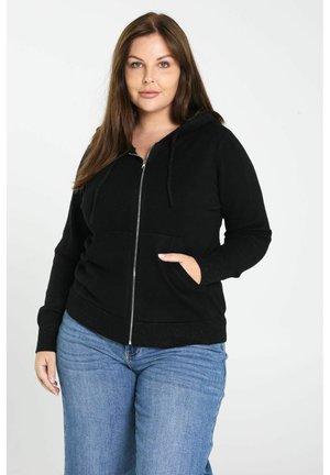 HOMEWEAR - Zip-up sweatshirt - black
