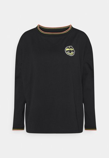 ON THE BOAT - Long sleeved top - anthracite