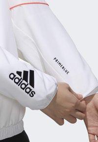 adidas Performance - Softshelljacke - white/black - 4
