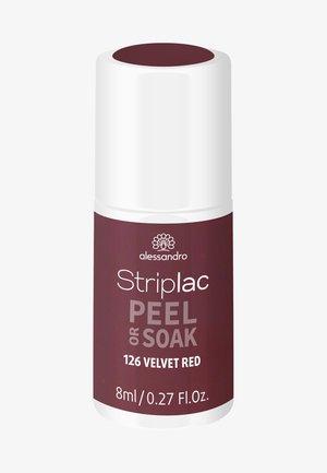 STRIPLAC PEEL OR SOAK UV LAMP - Nagellak - velvet red