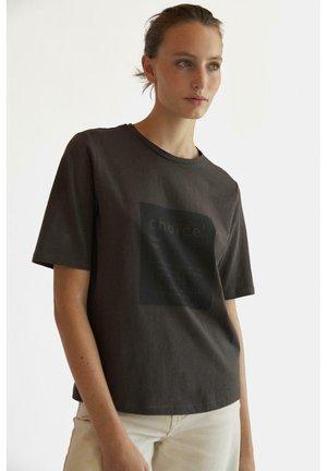 ECOALF SINCE WOMAN T-SHIRT - T-shirt print - grey