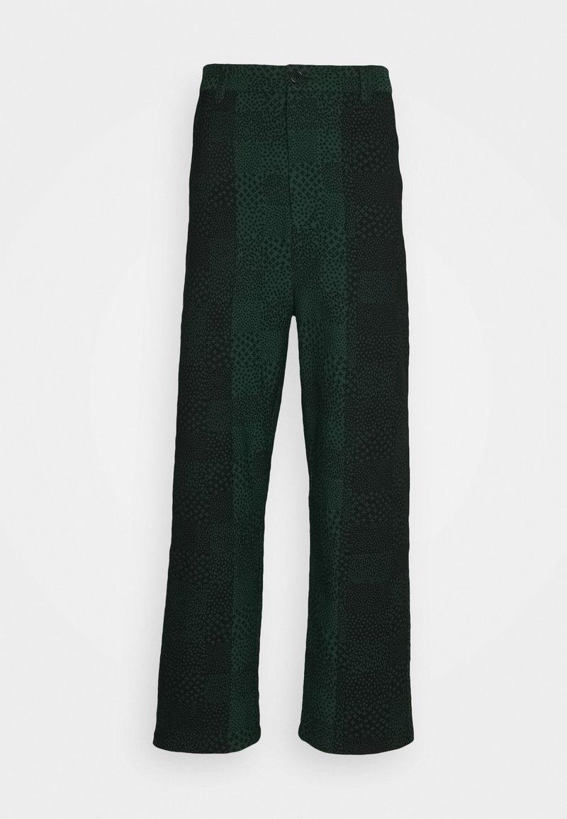 Henrik Vibskov - Trousers - black/dark green