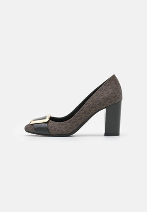 PATSY FLEX - Klassiske pumps - brown/black