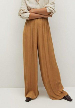 PASQ-A - Pantalones - marrón medio