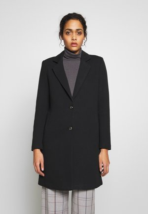 ONLCARRIE - Short coat - black/solid