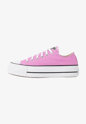 CHUCK TAYLOR ALL STAR LIFT SEASONAL - Matalavartiset tennarit - peony pink/white/black