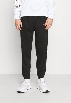 ESSENTIAL REGULAR JOGGER UNISEX - Teplákové kalhoty - black