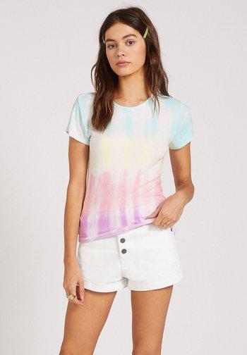 SURE BURT SS TOP - Print T-shirt - multi