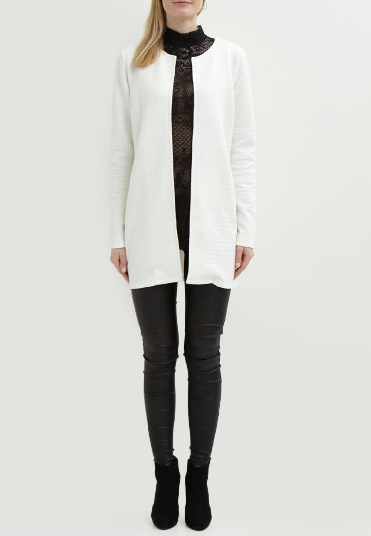 Vila - VINAJA NEW LONG JACKET - Summer jacket - white