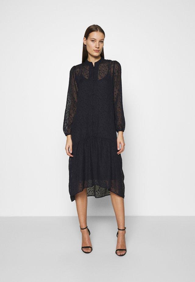 ELENORA DRESS - Shirt dress - blue deep