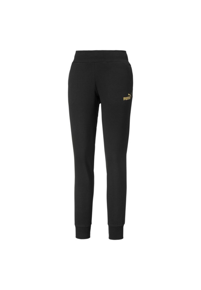 Jogginghose - puma black-gold