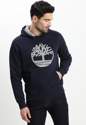 TREE LOGO - Bluza z kapturem - dark sapphir