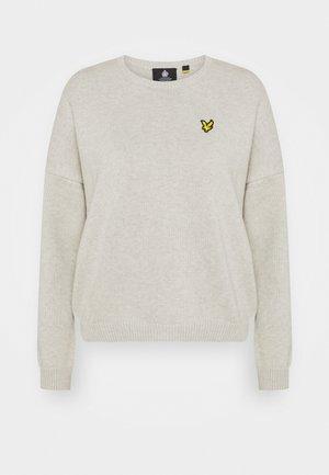 CREW NECK  - Jumper - light grey