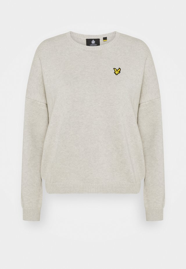 CREW NECK  - Pullover - light grey