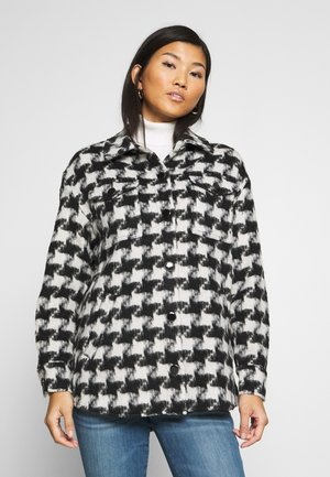 WINONA SHACKET - Classic coat - black/white