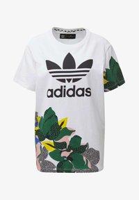 adidas Originals - HER STUDIO LONDON LOOSE T-SHIRT - Print T-shirt - white - 8