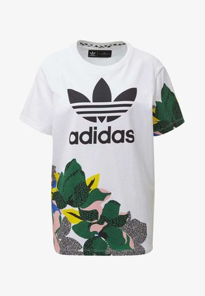 HER STUDIO LONDON LOOSE T-SHIRT - T-shirt con stampa - white